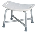 Bariatric Bath Bench No Back